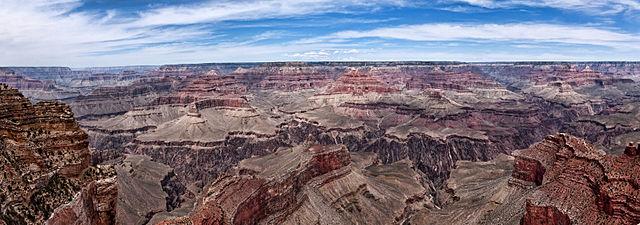 Grand Canyon depuis le point Hopi