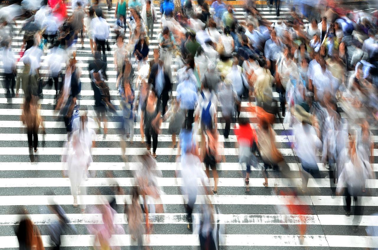 Des piétons, la cible privilégiée du street marketing