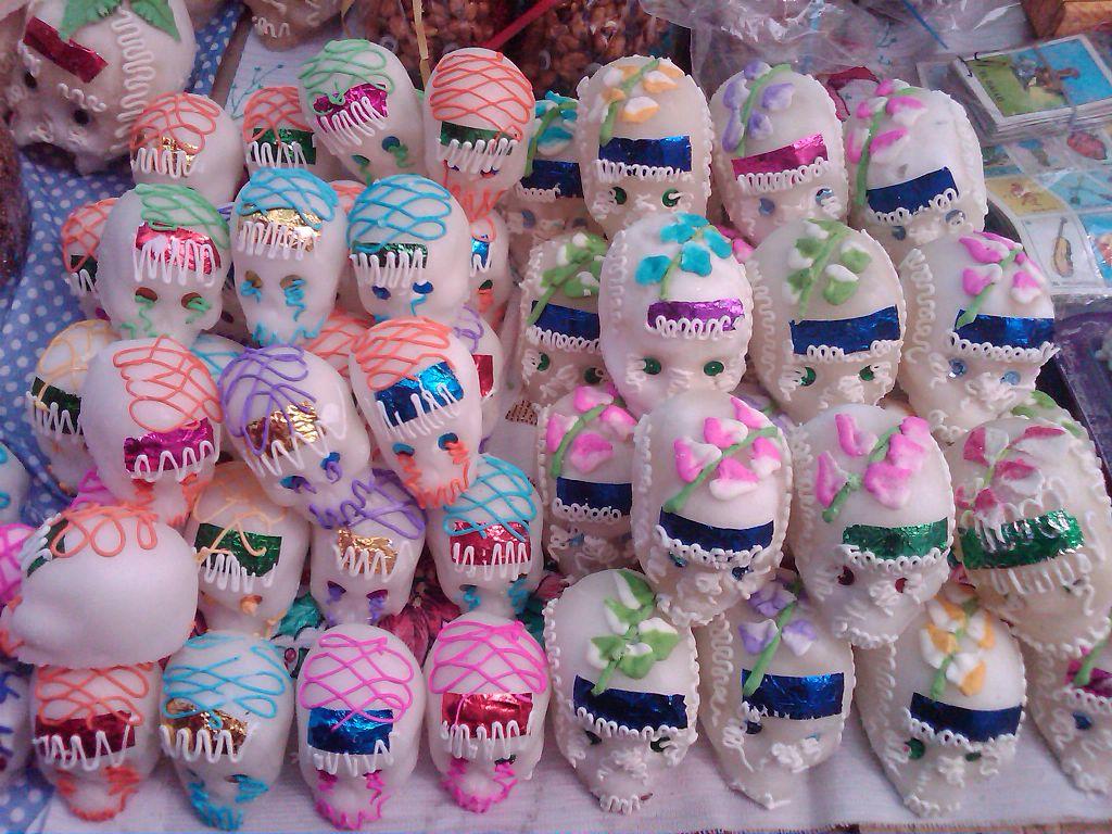 Calaveras en sucre : des offrandes pour le jour des morts au Mexique