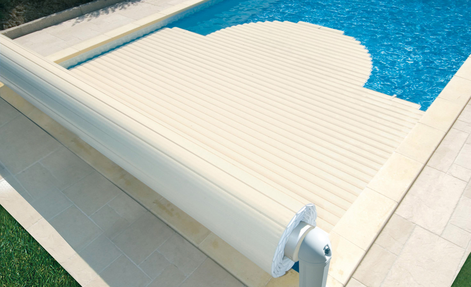Couverture de piscine hors-sol par Coverline