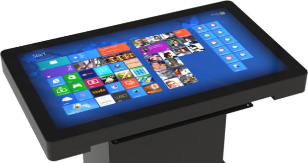 Une table tactile, élément impactant de la PLV numérique