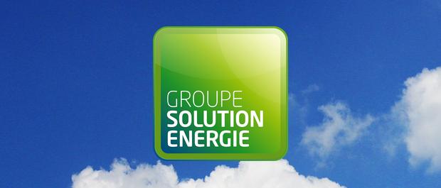 Logo du Groupe Solution Energie, spécialiste en autonomie énergétique