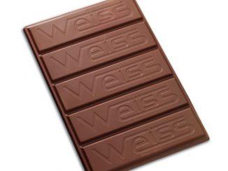 Chocolat gianduja en pain de 1 kg