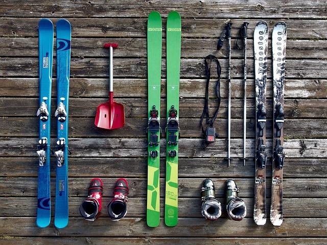 réparer ses skis