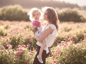 Mode d'une jeune maman